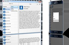 Многоязычное приложение с TsiLang под Android и Windows